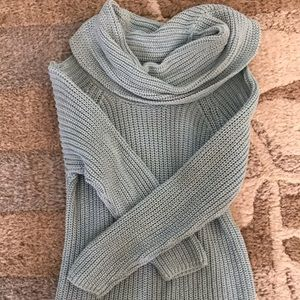 Girls cowl neck sweater